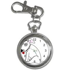 Pitbull Key Chain & Watch