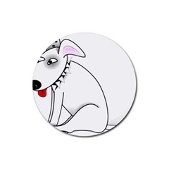 Pitbull Drink Coasters 4 Pack (Round)