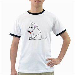 Pitbull Mens' Ringer T-shirt