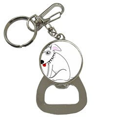 Pitbull Bottle Opener Key Chain