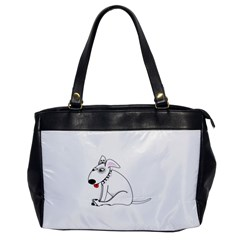Pitbull Oversize Office Handbag (One Side)
