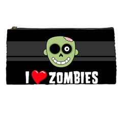 I Love Zombies Pencil Case