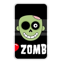 I Love Zombies Memory Card Reader (Rectangular)