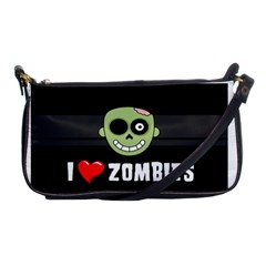 I Love Zombies Evening Bag
