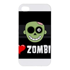I Love Zombies Apple Iphone 4/4s Hardshell Case