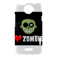 I Love Zombies HTC One X Hardshell Case