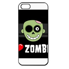 I Love Zombies Apple iPhone 5 Seamless Case (Black)