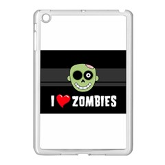 I Love Zombies Apple Ipad Mini Case (white)