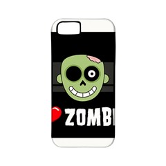 I Love Zombies Apple iPhone 5 Classic Hardshell Case (PC+Silicone)