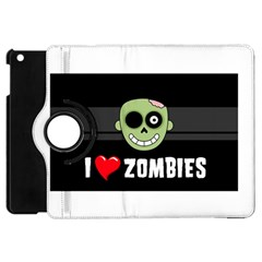 I Love Zombies Apple iPad Mini Flip 360 Case