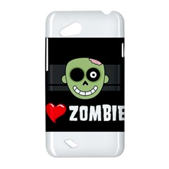 I Love Zombies HTC T328D (Desire VC) Hardshell Case