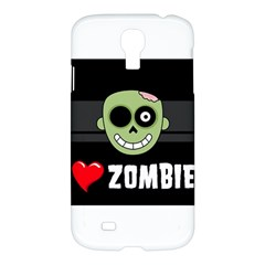 I Love Zombies Samsung Galaxy S4 I9500 Hardshell Case