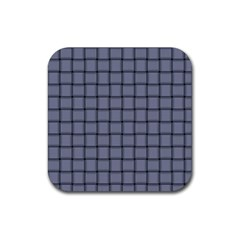 Cool Gray Weave Drink Coaster (square)