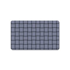 Cool Gray Weave Magnet (name Card)