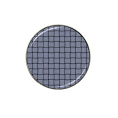 Cool Gray Weave Golf Ball Marker (for Hat Clip)