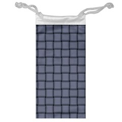 Cool Gray Weave Jewelry Bag