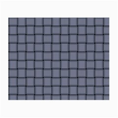 Cool Gray Weave Glasses Cloth (small, Two Sided)