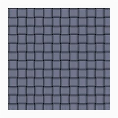 Cool Gray Weave Glasses Cloth (Medium, Two Sided)