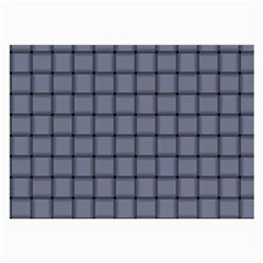 Cool Gray Weave Glasses Cloth (large, Two Sided)