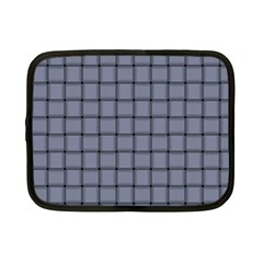 Cool Gray Weave Netbook Case (small)