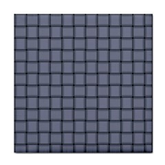 Cool Gray Weave Face Towel