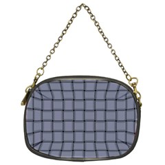 Cool Gray Weave Chain Purse (Two Side)