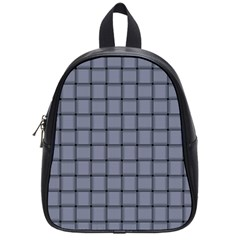 Cool Gray Weave School Bag (small)
