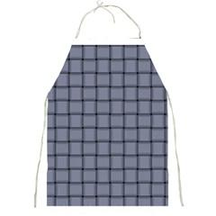 Cool Gray Weave Apron