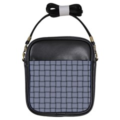 Cool Gray Weave Girl s Sling Bag