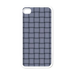Cool Gray Weave Apple iPhone 4 Case (White)