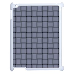 Cool Gray Weave Apple Ipad 2 Case (white)