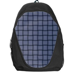 Cool Gray Weave Backpack Bag