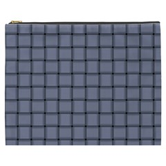 Cool Gray Weave Cosmetic Bag (XXXL)