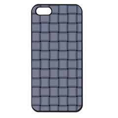 Cool Gray Weave Apple Iphone 5 Seamless Case (black)