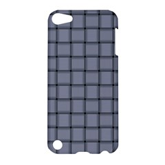 Cool Gray Weave Apple Ipod Touch 5 Hardshell Case