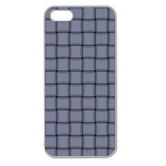 Cool Gray Weave Apple Seamless Iphone 5 Case (clear)