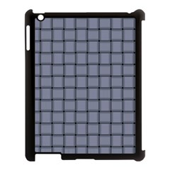 Cool Gray Weave Apple iPad 3/4 Case (Black)
