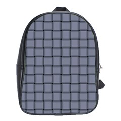 Cool Gray Weave School Bag (xl)