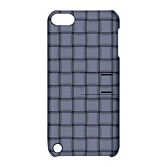 Cool Gray Weave Apple iPod Touch 5 Hardshell Case with Stand