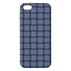 Cool Gray Weave iPhone 5 Premium Hardshell Case