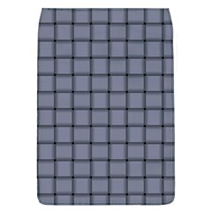 Cool Gray Weave Removable Flap Cover (large)