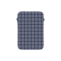 Cool Gray Weave Apple Ipad Mini Protective Soft Case