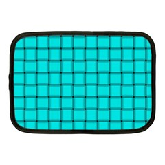Cyan Weave Netbook Case (medium)