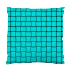 Cyan Weave Cushion Case (Two Sides)