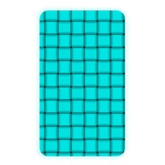 Cyan Weave Memory Card Reader (Rectangular)
