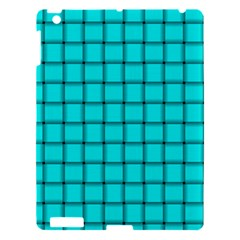 Cyan Weave Apple iPad 3/4 Hardshell Case