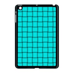 Cyan Weave Apple Ipad Mini Case (black)