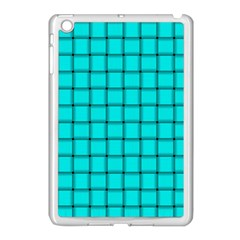 Cyan Weave Apple Ipad Mini Case (white)