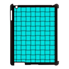 Cyan Weave Apple Ipad 3/4 Case (black)