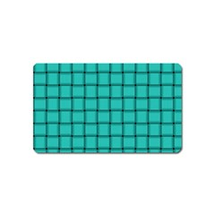 Turquoise Weave Magnet (name Card)